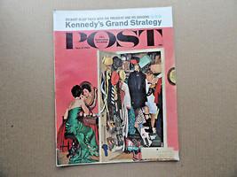 Saturday Evening Post Magazine March 31 1962 Complete - $9.99