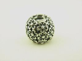 Pandora Ale Blüten Charm in Sterling Silber - $38.22