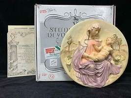 Bradford Exchange Plate Studio Dante Di Volteradici Gift of Eternal Love COA BOX - $34.64