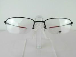 Oakley Top Spinner (51) OX 3133-0751 Pol Black / Red 51 x 19  Eyeglass Frames - $98.95