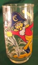 VINTAGE 1977 CAPTAIN CROOK MCDONALDLAND ACTION SERIES GLASS - $11.88