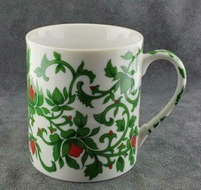 Williams Sonoma Coffee Mug Red Green White FREE SHIPPING - $19.95