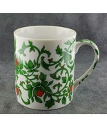 Williams Sonoma Coffee Mug Red Green White FREE SHIPPING - $19.95