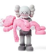 KAWS Original Fake Gone Companion Grey Pink medicom toy Genuine Rare - $1,899.99