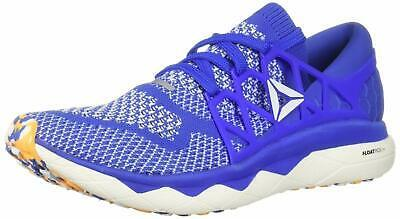 Reebok Men's Floatride Run Ultk Shoe 9.5 Crushed Cobalt/Solar Gold/White DV3885 - $126.22