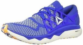 Reebok Men's Floatride Run Ultk Shoe 9.5 Crushed Cobalt/Solar Gold/White... - $126.22