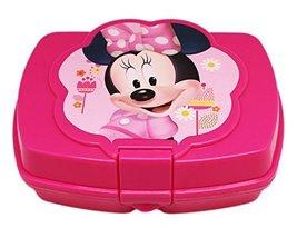 Disney Minnie Mouse Kids Sandwich Box Girls Lunch Box - $8.92