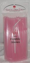 Straws - Flex / Flexible Drinking Straws - Pink - Luau - Wedding Recepti... - $10.56 CAD+
