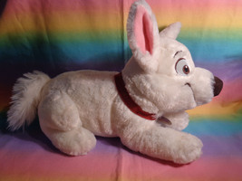 "Disney Store Bolt Lying Down Puppy Dog Plush Soft Animal w/ Collar 15"" - $17.77"