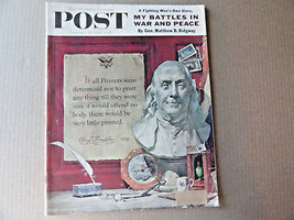 Saturday Evening Post Magazine January 21 1956 Complete - $9.99
