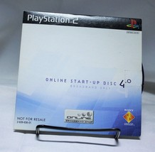 Playstation 2 Online Start-up Disc 4.0 Sony Broadband Only NTSC 2-639-83... - $3.99