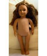 "Our Generation Battat Doll Red hair & Blue Eyes Freckles 18"" Scuff Marks... - $0.98"