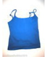 Womens Becca Sport Yoga Top Bra Blue Small Adjustable Straps Pilates Wal... - $9.00