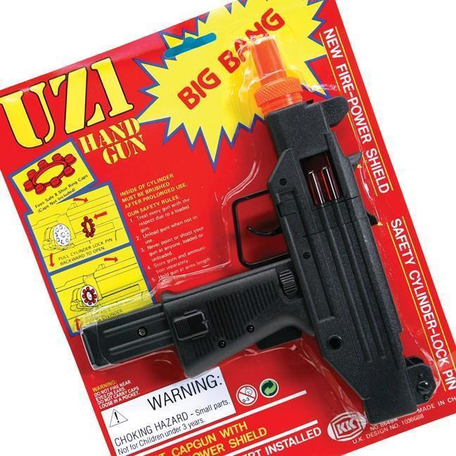 2 PIECES 38 SPECIAL BLACK PLASTIC 8 SHOT CAP GUN PISTOL boys play toy guns NEW