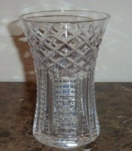 Waterford Cut Crystal Glass Vase - $29.00