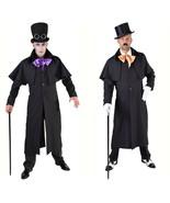 Gents Victorian Long Coat - Highwayman / Coachman / Gothic   - $50.73+