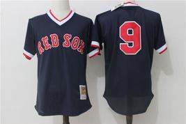 MLB Men's Boston Red Sox Baseball jersey #9 Black - $42.00