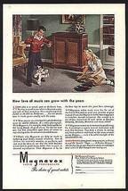 Marionette Puppet Dances Magnavox Phonograph 1945 Vintage AD - $14.99