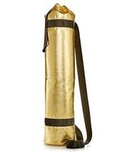 TwelveNYC Yoga Mat Carrier Bag Gold - $149,02 MXN