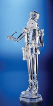 "Pack of 2 Icy Crystal Decorative Christmas Nutcracker Drummer Figure 18"" - $201.95"