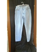 Womens sz 12 Riders Lee Relaxed straight leg blue jeans RAS1404 - $15.84