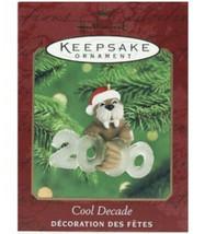 Hallmark Keepsake Ornament Cool Decade 2000 #1 Walrus Santa Hat - $7.25