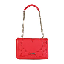 Love Moschino Handbag; Shoulder Bag 2 Handles Lined Interior Innovative ... - $209.77