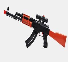 Kids Toys Plastic AK 47 Toy Gun 3 Pcs Soft Bullet 400 Pcs Water Bullet P... - $28.60