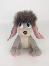 "Anastasia Pooka 12"" Applause Gray Dog w Flapping Ears Plush Toy Vintage ... - $18.66"