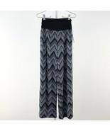 Women's Apt. 9 Black & White Wide Leg Palazzo Pants Med sz M - $25.16