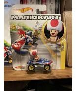 Hot Wheels Car Nintendo MarioKart Toad Sneaker Kart Die Cast 2020 TOTY NEW  - $10.87