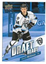 2019-20 Connor McClennon Upper Deck CHL Rookie Draft Ready - Kootenay Ice - $1.89