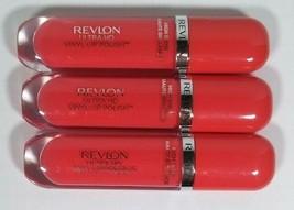 Lot of 3 Revlon Ultra HD Vinyl Lip Polish  #920 Power Up High Shine 0.2 Fl Oz - $14.99