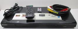 Sony DVP-NS710H 1080p Upscaling Hdmi Dvd / Cd Player w/ Remote - $32.29