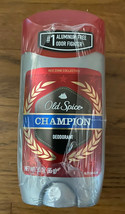 Lot Of 3 Men's Old Spice Champion Deodorant #1 Aluminum Free Odor Fighter 3 Oz - $60.00