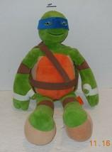 """2015 Nickelodeon Teenage Mutant Ninja Turtles Leonardo 18"""" plush toy - $14.03"""