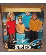 1996 Barbie & Ken Star Trek Gift Set Dolls New In The Box - $54.99