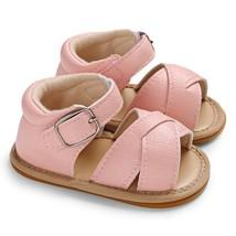 c - 556 Baby Girls Sandals Fir color LIGHT PINK size EU 21 - $12.58