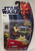 "Hasbro Star Wars 2012 YODA 2"" Action Figure Toy NEW - $16.34"