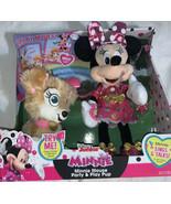 Disney Junior Minnie Minnie Mouse Party & Play Pup Singing Walking Talki... - $37.72