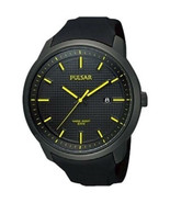 Genuine Pulsar Men's PS9101 Analog Display Japanese Quartz Black Watch - $59.95