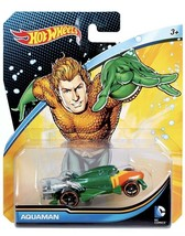 NEW In Package Hot Wheels Mattel DC Comics Aquaman 2015 Character Car DMM14 - $10.88