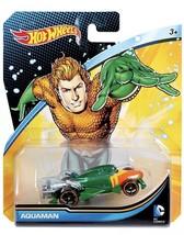 NEW In Package Hot Wheels Mattel DC Comics Aquaman 2015 Character Car DMM14 - $10.88
