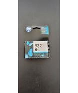 New Genuine HP 932 Ink Cartridge, Black, #CN057AN, Expires DEC 2017 - $11.39