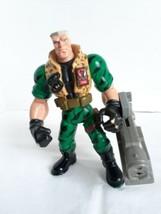 Small Soldiers Chip Hazard w Combat Blaster Movie Action Figure 1998 90s... - $23.97