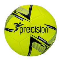 Precision Unisexs Fusion Sala Futsal Ball 4 White//Fluo Green//Fluo Yellow//Blue