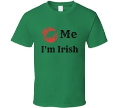Kiss Me I'm Irish Novelty T Shirt St Patricks Day Gift Drinking Cotton T... - $10.37+