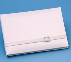 Wedding Guestbooks : Glamour Collection - Wedding Guest Book / Ivory - $34.08