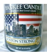 New Retired Yankee Candle BOSTON STRONG Limited Edition Marathon 22oz Ou... - $80.70
