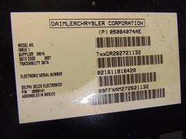 04 05 06 07 08 Chrysler Pacifica satellite gps radio control module 05064074ae image 2